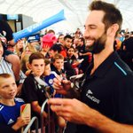 .@grantelliottnz #hairyjavelin was 1 of the most popular @BLACKCAPS last night at The Cloud. Hes become a cult hero http://t.co/xKK6ufai6y