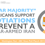 A clear majority of Americans favor the #IranTalks. Lets make this happen. #DeadlineDay http://t.co/aKfwejGvSX
