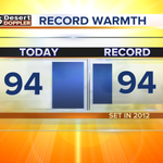 Another day, another record. So far, weve tied the record at Phoenix Sky Harbor. #abc15wx #azwx http://t.co/GoPg5R4t1D