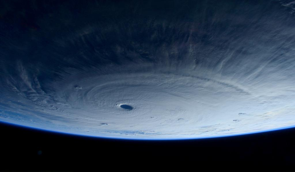 Commands respect even from #space: we just flew over typhoon #Maysak. http://t.co/w86GnxmaO2