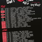 Excited to have our mates @HEYVIOLET supporting us on our #ROWYSOTour this year (excl OZ/NZ) ! http://t.co/m0dHx7aKsN http://t.co/92YouYKmg2