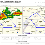 Severe Thunderstorm Warning including Senath MO, Cardwell MO, Rector AR until 6:15 PM CDT http://t.co/FrX6USErPI