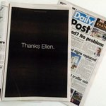 Female tech workers raised money to buy a full-page newspaper ad thanking Ellen Pao. http://t.co/opTr6rxV1Y http://t.co/HpFOK1YPBV