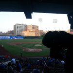 Beautiful night for #baseball...so far..Tigers and Rebels about to battle at lovely AutoZone Park..#FOX13 http://t.co/cgyG6u9pAT