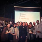 Congrats to all the @knightfdn #KnightCitiesChallenge winners! Shout out to the #Detroit winners. #civicinnovation http://t.co/M8RGjxbDsg
