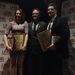 UNB female and male rookies of the year, Victoria Eadle and Randy Gazzola! http://t.co/8AbHyGszrR
