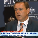 #BREAKING: #ASADA is considering AFL appeal in relation to Essendon drug scandal. http://t.co/c5kowKrvGh