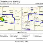 Severe Thunderstorm Warning including Bolivar TN, Cloverport TN, Dancyville TN until 7:45 PM CDT http://t.co/rz8S4X8RU8