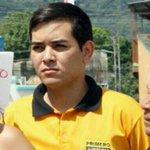 En #Carabobo por el circuito Sur de Valencia y Libertador, joven dirigente estudiantil @AriasDanielB #TrabucoPJ http://t.co/Oufb8quPug