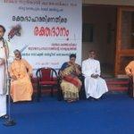 Addressing a blood donation drive organized by MalankaraCatholic Church under Cardinal Cleemis. Blood has no religion