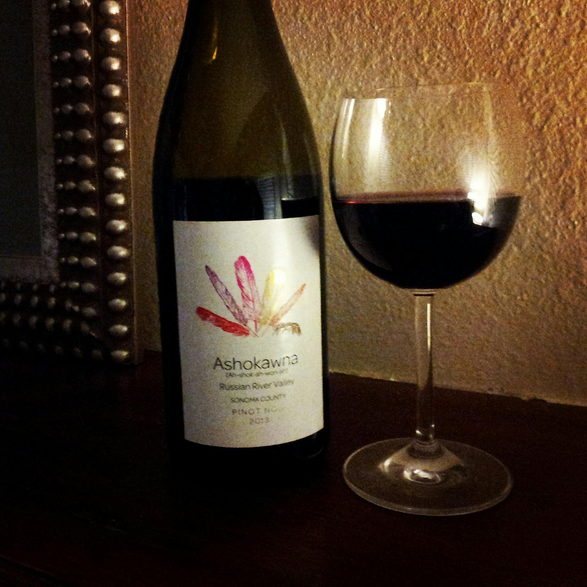 My review of #Ashokawna #pinotnoir #RussianRiverValley '13 wine.  http://t.co/HsgC2ZwCwM #BevChat http://t.co/NT5Dlm41GL