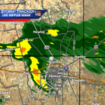 Showers SW Abilene to Hawley creating breezy winds gusting to 30 mph. Lightning still possible. http://t.co/7OghDfKLx4