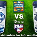 .@TheRealJGuts takes the mound for the @Royals vs. the @Padres! Tune in at 10pE & RT for a chance at a @TervisTumbler http://t.co/wtyivWwKkU