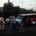 Un choque en la México-Querétaro deja al menos 10 heridos; cuatro de gravedad http://t.co/Mr9n0sybyq http://t.co/wsmoceY1Ge