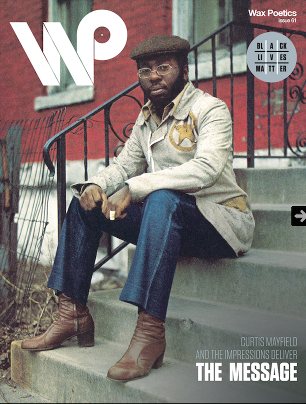 Super bad back cover of the new issue of @waxpoetics featuring Curtis Mayfield http://t.co/qORPGqy9SS http://t.co/1OHNQ8Gf4f