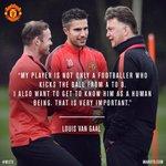 Louis van Gaal: in his own words. Pengurus #mufc jelaskan falsafah bola sepaknya: http://t.co/tnDGUGwHRe http://t.co/l0yiznjkG8