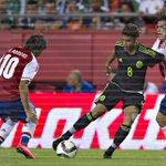 Aspectos del encuentro de preparación entre México (1-0) Paraguay http://t.co/bVIWURenrX