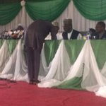 """@inecnigeria: Representative of NCP signs result sheet #Nigeriadecides http://t.co/15AkEiUvR0"""