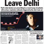 DEATH BY BREATH: Message couldnt have been starker. Doc are telling patients to flee Delhi @Pritha88 @IndianExpress http://t.co/tqHwaQDkTe