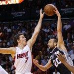 FINAL: The Miami Heat fall to the San Antonio Spurs 95-81. http://t.co/tL6Q08XQ1J