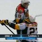 FINAL OT: @ErieOtters (4) - @StingHockey (3) @stromer19 GWG VIDEO: http://t.co/N6rPm346mU ER leads 3-1 #ERvsSAR http://t.co/ieBonsH0kC
