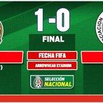 Fin del duelo en el Arrowhead Stadium. Con gol de Lalo Herrera, México derrota 1-0 a Paraguay: http://t.co/OOK56nVeto http://t.co/Us4q9CGUox