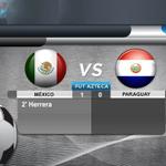 #MEX 1-0 #PAR Termina el partido. Eduardo Herrera anotó a los dos minutos y fue suficiente para la victoria http://t.co/FY0iBpo0AR