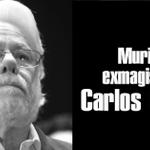 ÚLTIMA HORA   Muere el exmagistrado Carlos Gaviria Díaz http://t.co/2LxyCFvbkD http://t.co/L9cxKbUgy5