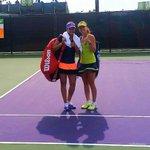 RT @IndiaInSports: Top seeds @MirzaSania & @mhingis beats Anastasia & Arina Rodionova 6-3 6-4 in @MiamiOpenTennis quarters http://t.co/9ECe…