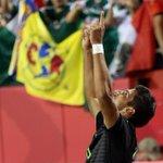 LaCandenteMX: RT Xinhua9: #Herrera #México festeja en partido amistoso internacional ante #Paraguay en #kansascity… http://t.co/TmuvVgAbYL