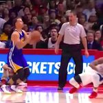 MVP Moment? Steph Curry Shakes Chris Paul To The Floor With Double Behind-The-BackDribble http://t.co/WrZiLexe5x http://t.co/F0CpJvqQXN