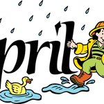 April has came out! But with a Cold & Rainy Weather, it may be a good start of a month. #HelloApril #Jordan http://t.co/kTXsC9zzw0