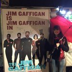 RT @SusanShortHall: @gaffiganshow, @JimGaffigan We walked all over NYC in the rain to find you! http://t.co/LmaYg3zGZD