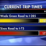 Here come the delays out of Cobb County. @mckaywsb with a live update next on #wsbtv. #ATLtraffic http://t.co/pshVfAqkx0