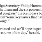 Key issues in Iran nuclear talks need to be resolved, say officials http://t.co/z5uzUbEvji #IranTalks http://t.co/bboa7UvXLa