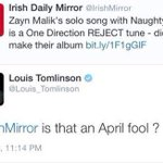 Louis nosso herói! ???????? #OneDirection #TheyreTheOne @radiodisney http://t.co/W5h15pbQFF