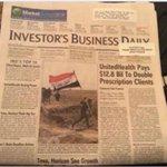 صحيفة يومية ومشهورة في #نيويورك تضع في صفحتها الأولى جندي عراقي وهو يغرس العلم العراقي بعد تحرير #تكريت #تكريت_تتحرر http://t.co/tzMSevw4kw