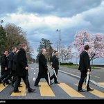 Abbey Road Iranian style #IranTalks http://t.co/zMSynEG6mg