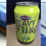 .@Boulevard_Beer releases Heavy Lifting IPA, the first beer in a can for the brewery - http://t.co/fEsPVOpPvI http://t.co/Wkwlpllkzl