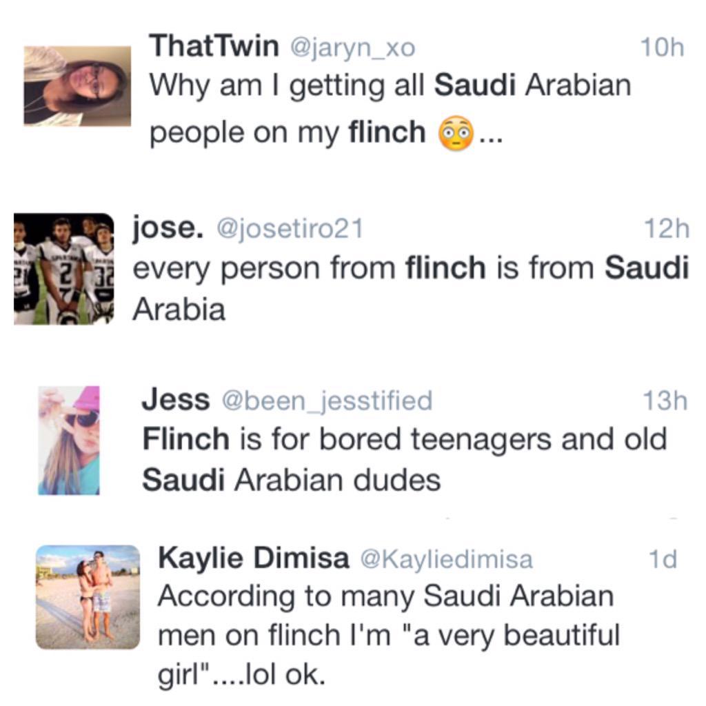 """الشباب السعودي رسمياً شوّه صورتنا قدام العالم على برنامج """"فلنش"""" ! اركدوا يا شباب الله يصلحكم مو كذا!"""