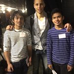 Thank you @StephenCurry30 for meeting my sons Jimuel and Michael tonight at the game. God Bless! http://t.co/M9f1UeqKzK