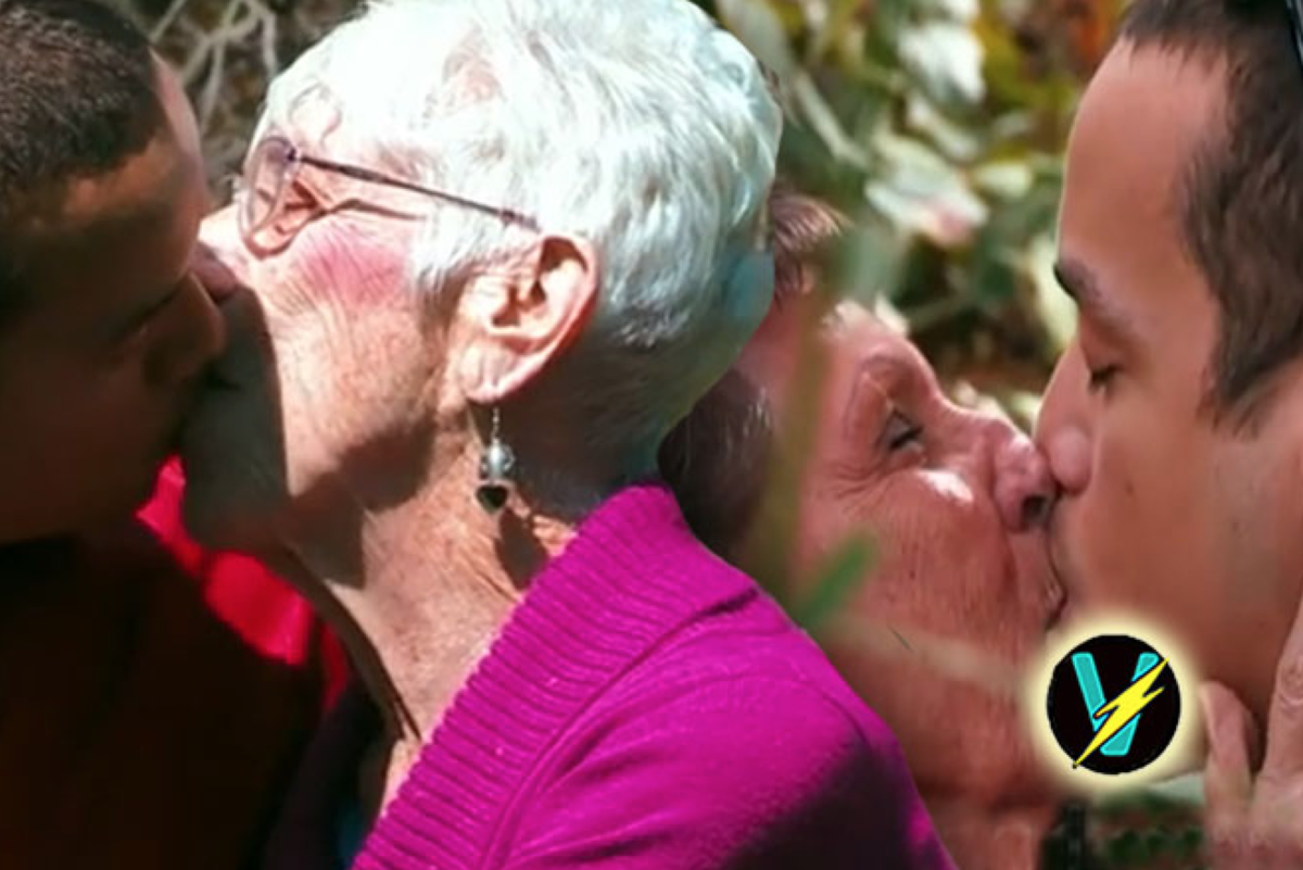 Old men love oral sex all became