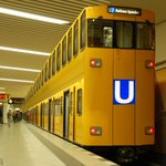 Due to record numbers of #tourists, #Berlin today launched worlds 1st double-decker subway trains.#DoppelDeckerUBahn http://t.co/vNefVCetIH