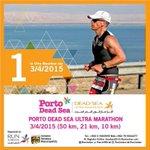 """@LaraHajjara: One day left for Porto Dead Sea Ultra Marathon... Hurry up!!  #DeadSeaMarathon #RunJordan http://t.co/itU9gmBMr1"""