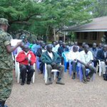 """""""@DailyMonitor: UPDF retires 40 officers in Gulu: http://t.co/AWr89bWCP1 http://t.co/oDkDIdxf39"""" but still refuses to retire Sejjusa"""