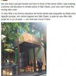 Fraco, diz pai de menino vítima de racismo sobre pedido de desculpas da Animale http://t.co/J1YtVoSBRn http://t.co/aM4WZyQuBh