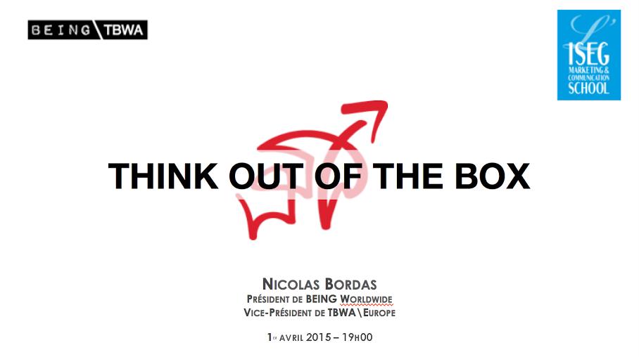 Ce n'est pas un #PoissonDavril !J'interviens ce soir à 19h à Toulouse pour #ISEGPubComMediaWeek ! Follow #IsegBordas http://t.co/M8Sx7vzvQO