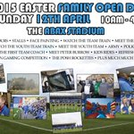 SUNDAY 12TH APRIL. FAMILY FUN. FREE EVENT. FREE PARKING #PUFC http://t.co/m0nqmiy7Ie