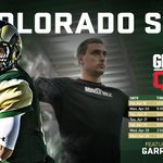 Set your DVRs! Yes... you CAN plan this far ahead. #GrudenQBCamp #CSURams http://t.co/ewT5IUQyKh