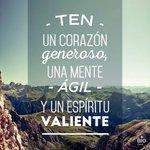 RT MichelPesquera: Ten un corazón generoso... http://t.co/sASVN9VEo4